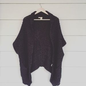 DNKY Knitted Top Grey and Black